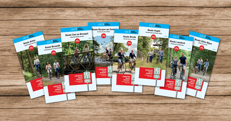 Liberation Route Brabant fietskaarten