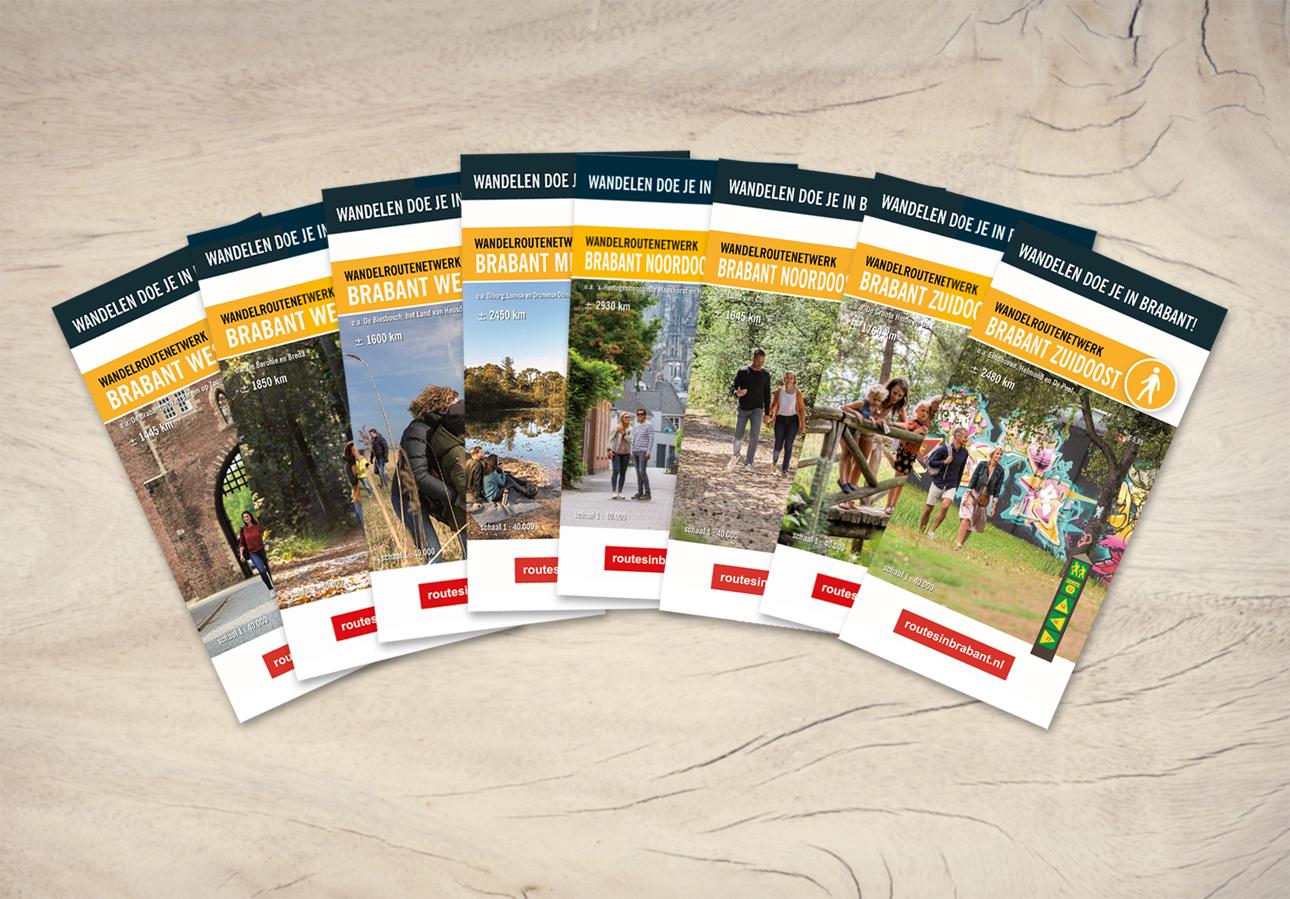 Wandelkaarten Brabant