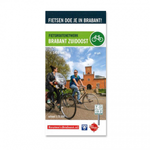Fietskaart: Brabant Zuidoost
