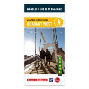 Wandelkaart: Brabant West, o.a. De Biesbosch, het land van Heusden en Altena