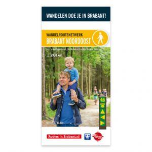 Wandelkaart: Brabant Noordoost, o.a. 's-Hertogenbosch, De Maashorst en Het Groene Woud