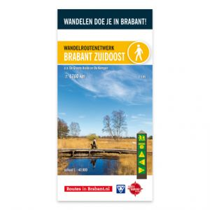Wandelkaart: Brabant Zuidoost, o.a. De Groote Heide en De Kempen