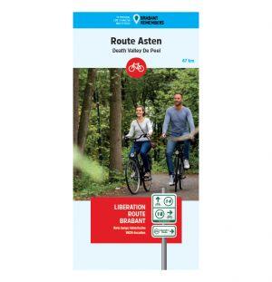 Liberation Route Brabant fietskaart Asten