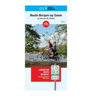 Liberation Route Brabant fietskaart Bergen op Zoom