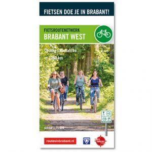 Fietskaart: Brabant West