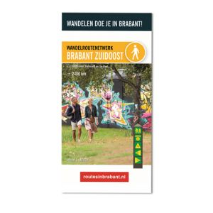Wandelkaart: Brabant Zuidoost, o.a. Eindhoven, Helmond en De Peel