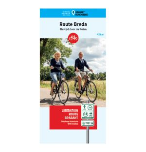 Liberation Route Brabant fietskaart Breda