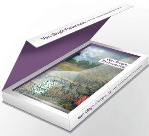 Van Gogh gift box (vijf fietsroutekaarten + overzichtskaart)