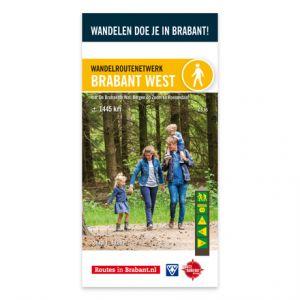 Wandelkaart: Brabant West, o.a. De Brabantse Wal, Bergen op Zoom en Roosendaal