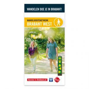 Wandelkaart: Brabant West, o.a. De Baronie en Breda