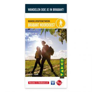 Wandelkaart: Brabant Noordoost, o.a. Land van Cuijk