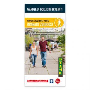 Wandelkaart: Brabant Zuidoost, o.a. Eindhoven, Helmond en Strabrechtse Heide