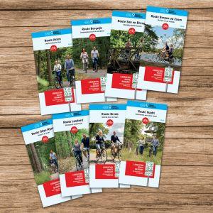 Liberation Route Brabant (set van 8 fietskaarten)