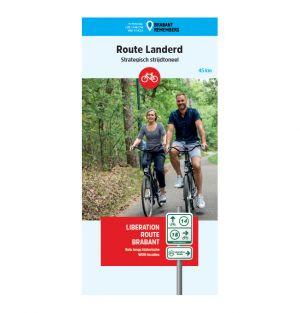 Liberation Route Brabant fietskaart Landerd