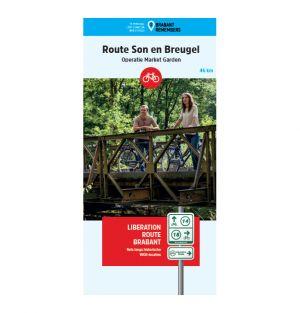 Liberation Route Brabant fietskaart Son en Breugel