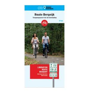 Liberation Route Brabant fietskaart Bergeijk