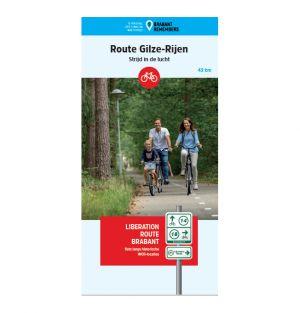Liberation Route Brabant fietskaart Gilze-Rijen